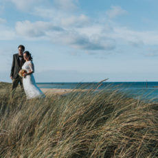 Farm Beach wedding