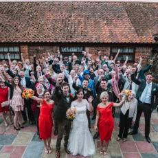 Dairy Barns Rustic Barn wedding shot